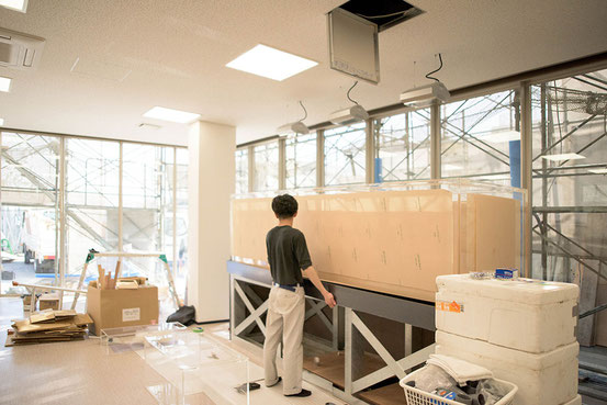 水槽の架台は強度を構造計算
