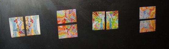 Magnets sur l'Héliquadrisme de JF SAVORNIN / © HELIQUADRISME de JF SAVORNIN