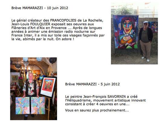Sur le site : http://mamarazzi.fr/artiste.html