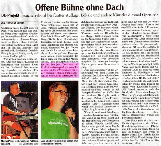 """""""Rieser Nachrichten"""", 01.08.2016"""