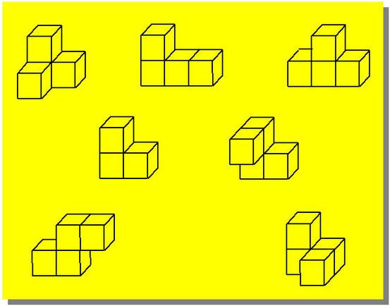 Le sette forme del Cubo Soma
