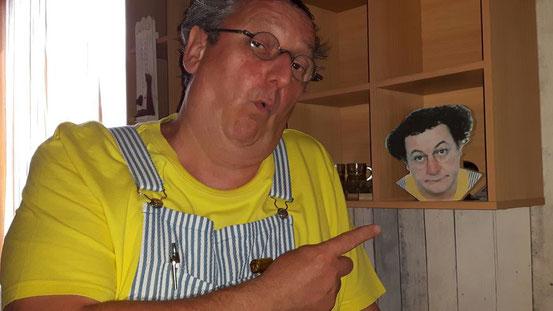 INSOLITE Daniel Dufour fait revivre Coluche 30 ans après sa mort avec Ma Coqueluche