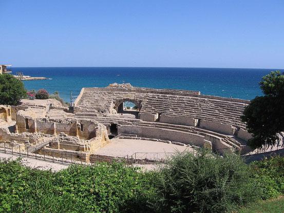 Bild: Tarragona historische Bauten aus der Antike