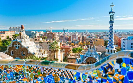 Bild: Barcelona Shopping, Fussball, Meer