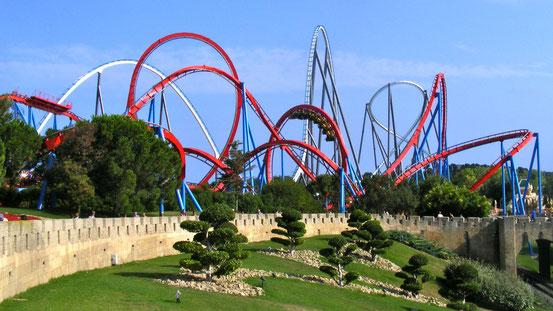 Bild: Portaventura Freitzeitpark und Erlebnispark in der Nähe von Barcelona