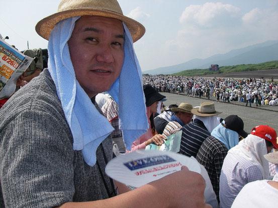 2007.08.26(Sun) 第49回 富士総合火力演習 会場にて    撮影:JH1WCD