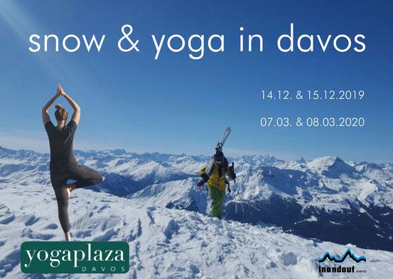 Freeridging, Yoga, Skiunterricht, Snowboardunterricht