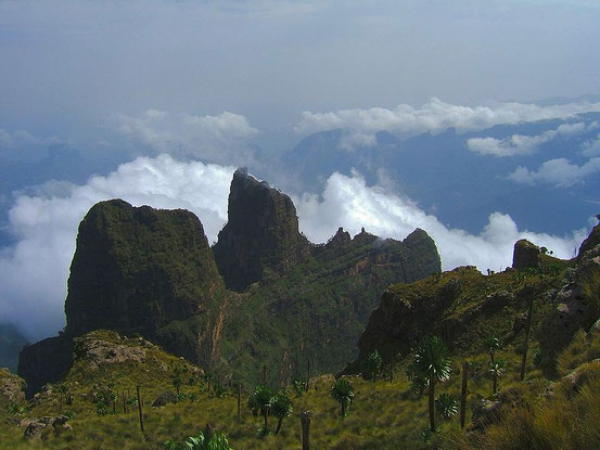 Simien Mountains ©Wikipedia,Guistino