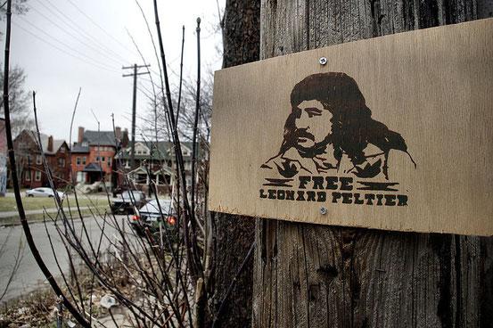 Gerechtigkeit für Leonard  Peltier
