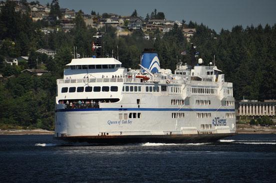 Die Fähre nach Vancouver Island