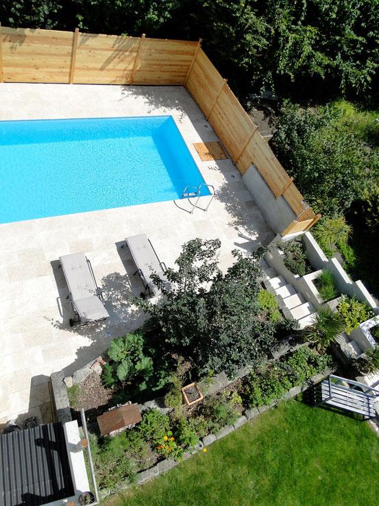 Pool selber bauen - Baubericht Pool-Selbstbau - Pool selber bauen