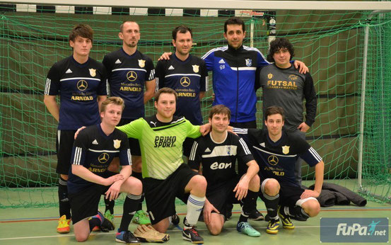 Kicker's 2010 - stolzer Regensburger Vieze Hallenmeister - Am 23. März geht es auf zur Copa Bavaria