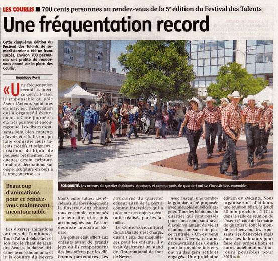 N'BCD au Courlis pour talents de scene  - Jdc du 06-06-2014