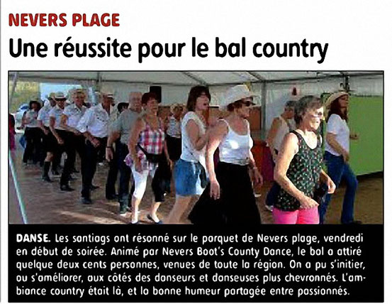 Article JdC du 07 Aout 2017 sur Nevers Plage du 04-08-2017