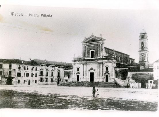 Piazza della Vittoria, Veduta storica.