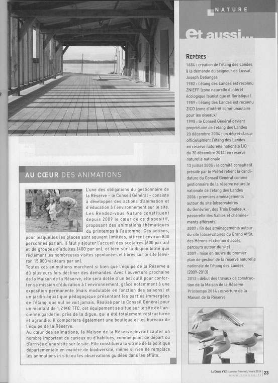Magazine La Creuse (suite)