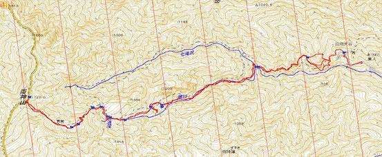 両神山 距離:11.7km 累積標高差:1250m(登り)
