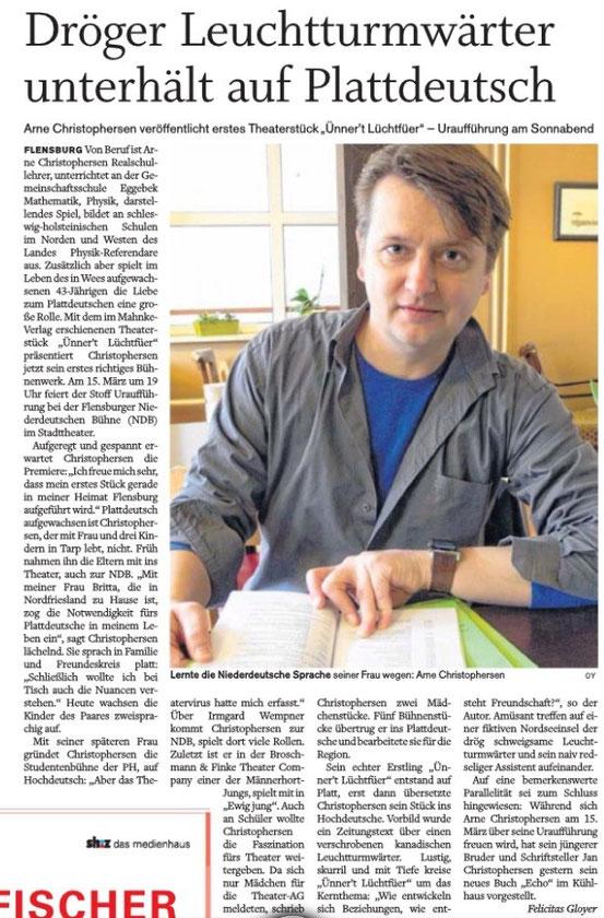 Flensburger Tageblatt vom 12.3.14