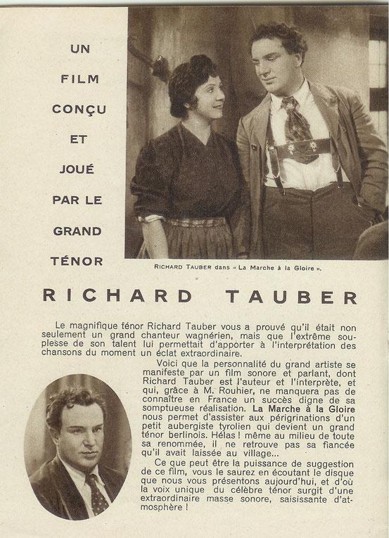 Supplément Odéon - décembre 1930