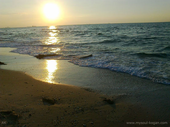 Средиземное море в предновогодние дни