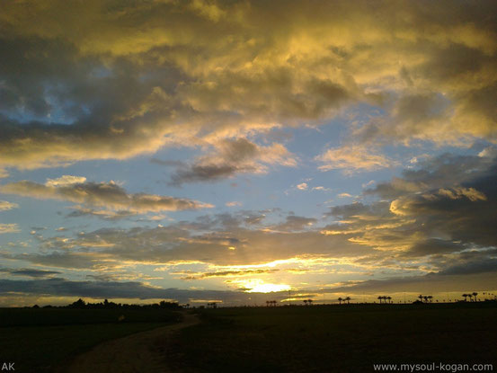 Цветные облака