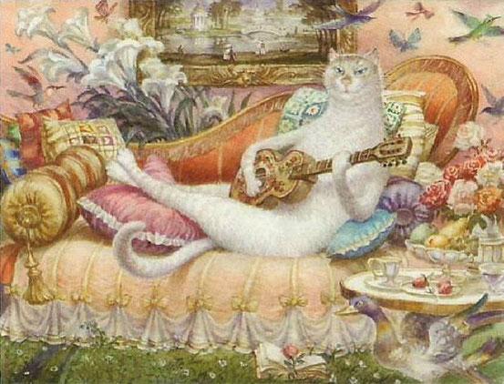 Коты В. Румянцева
