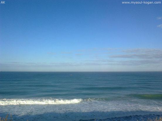какого цвета море