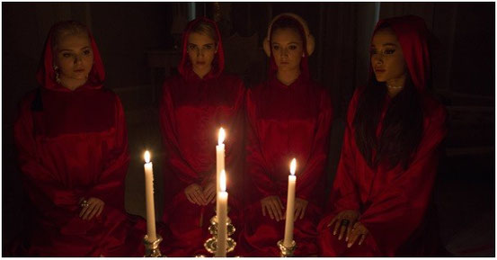 Scream Queens de Ryan Murphy, Brad Falchuk & Ian Brennan - 2015 / Série - Horreur - Slasher