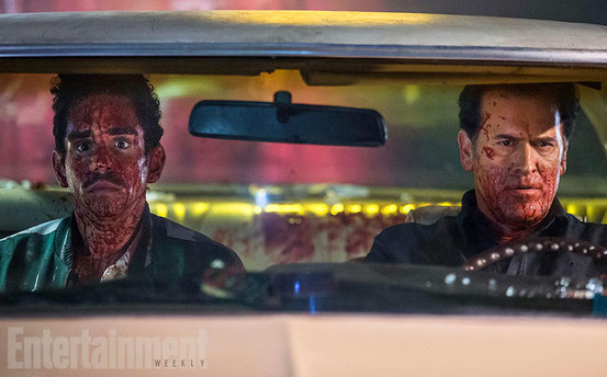 Ash Vs. Evil Dead de Sam Raimi - 2015 / Série - Horreur - Comédie - Gore
