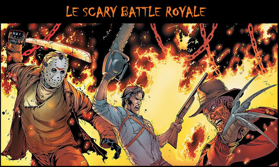 Le Scary Battle Royale - Combats d'îcones horrifiques