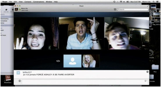 Unfriended de Levan Gabriadze - 2014 / Horreur - Slasher