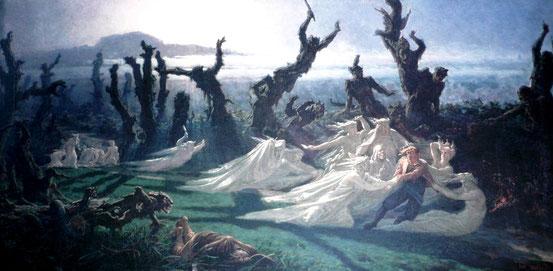 Les Lavandières de la nuit - Mythes & Légendes Urbaines