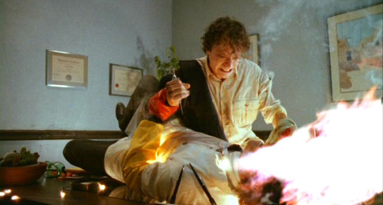 Spontaneous Combustion de Tobe Hooper - 1990 / Horreur - Science-Fiction