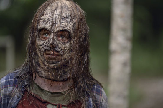 L'ACTRICE THORA BIRCH (37 ANS) INCARNERA GAMMA (12 ANS) DANS LA SAISON 10 DE THE WALKING DEAD !