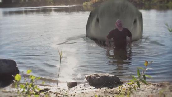 Jurassic Shark de Brett Kelly - 2012 / Horreur - Animal Tueur