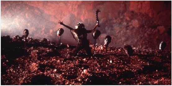 Ghosts Of Mars de John Carpenter - 2001 / Fantastique - Horreur