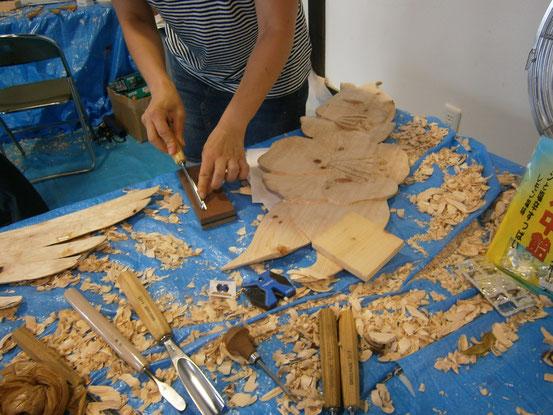 秋山さんの刃物の砥ぎ方