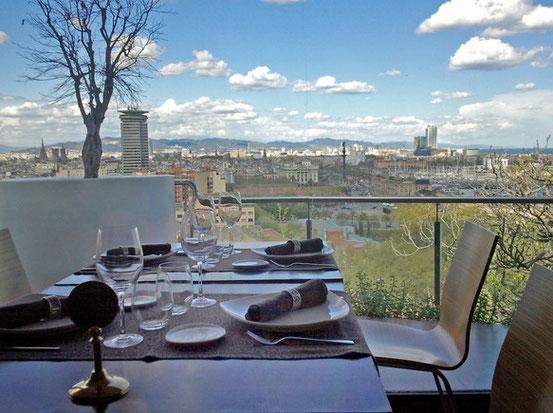Барселона - рестораны с панорамными видами