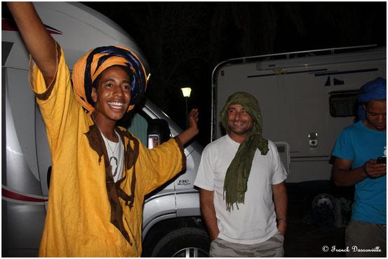 La palmeraie et Ali Baba !