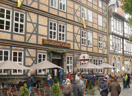 Außenansicht: Brauhaus in Goslar