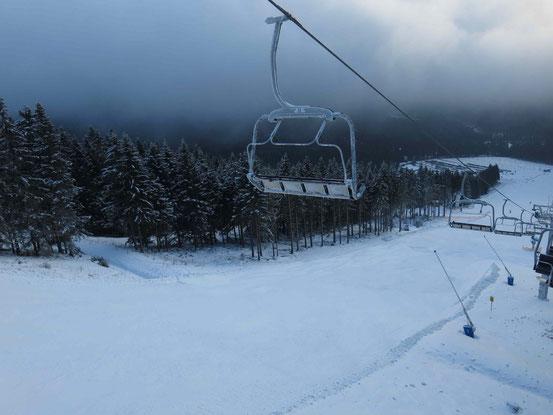 Skigebiet Wurmberg: Walpurgishang, Sessellift