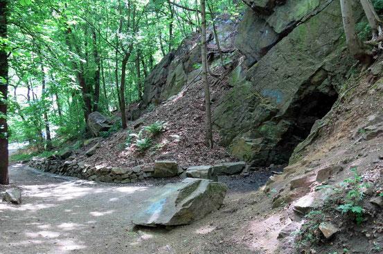 Weg zur Rosstrappe/ Thale