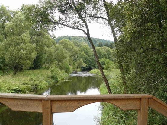 "Brücke über die ""Warme Bode"" bei Königshütte"
