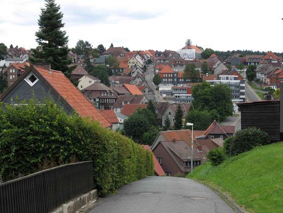 Sankt Andreasberg: extreme Steigungen/ Gefälle in der Stadt