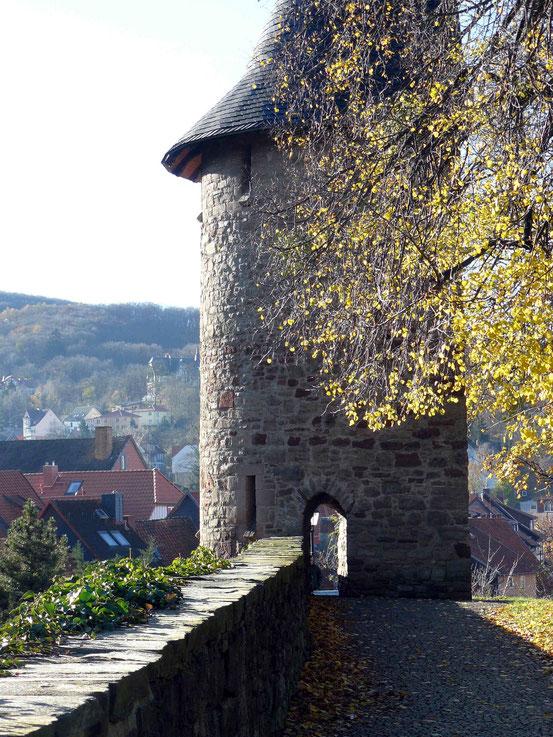 """Weg """"Burgberg""""/ Wernigerode, Weg zum Schloss Wernigerode"""