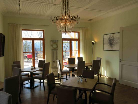 Restaurant im Gast- und Logierhaus Aussichtsreich auf dem Burgberg in Bad Harzburg