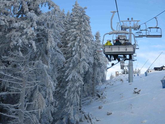 Skigebiet Wurmberg: Sessellift Hexen-Express