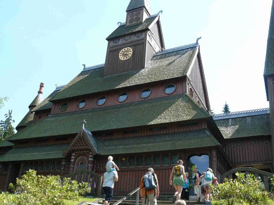 Gustav-Adolf-Stabkirche in Hahnenklee