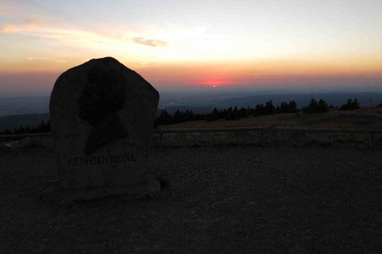 Sonnenaufgang Brocken/ Harz