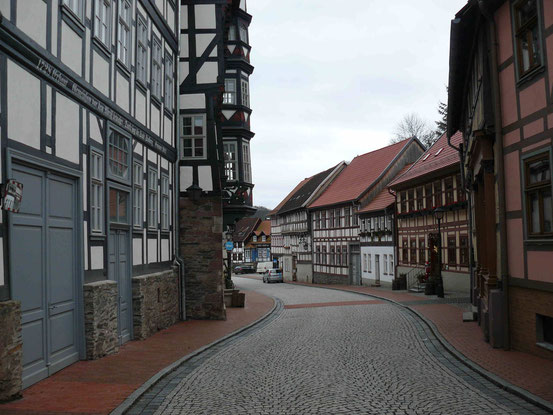 Fachwerkhäuser in Stolberg